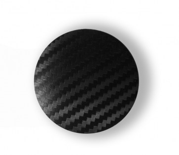 Carbon capace centrale jante 52 mm - Transport gratuit