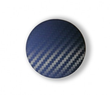 Carbon Blue capace centrale jante 63 mm - Transport gratuit
